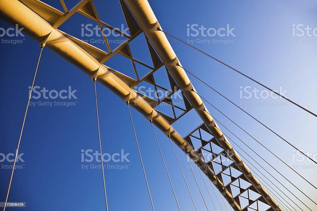 Bridge abstract royalty-free stock photo