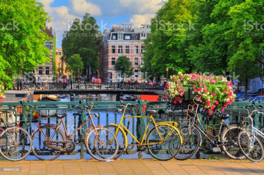 Bridge Amsterdam stock photo