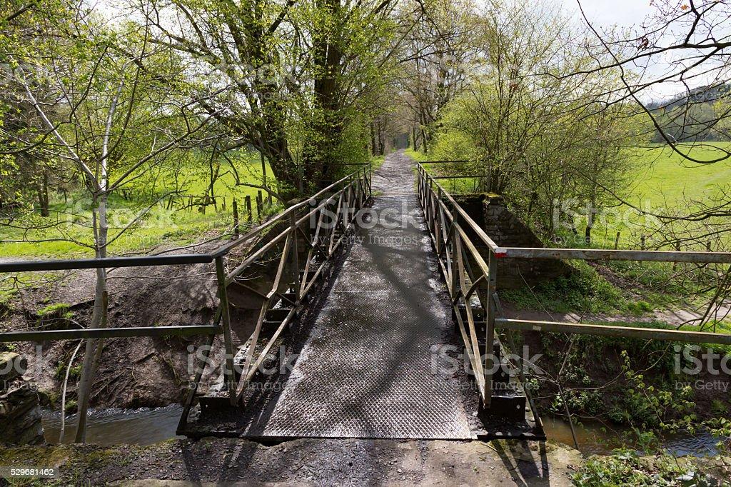 Bridge and Bridle path stock photo