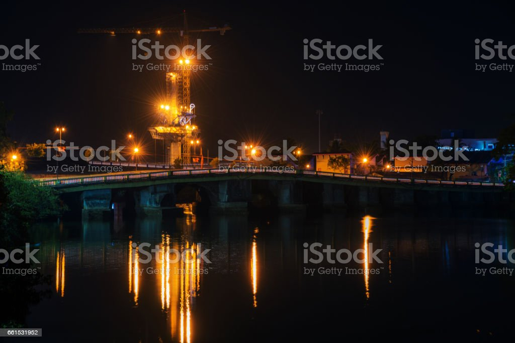 Bridge And Construction stock photo
