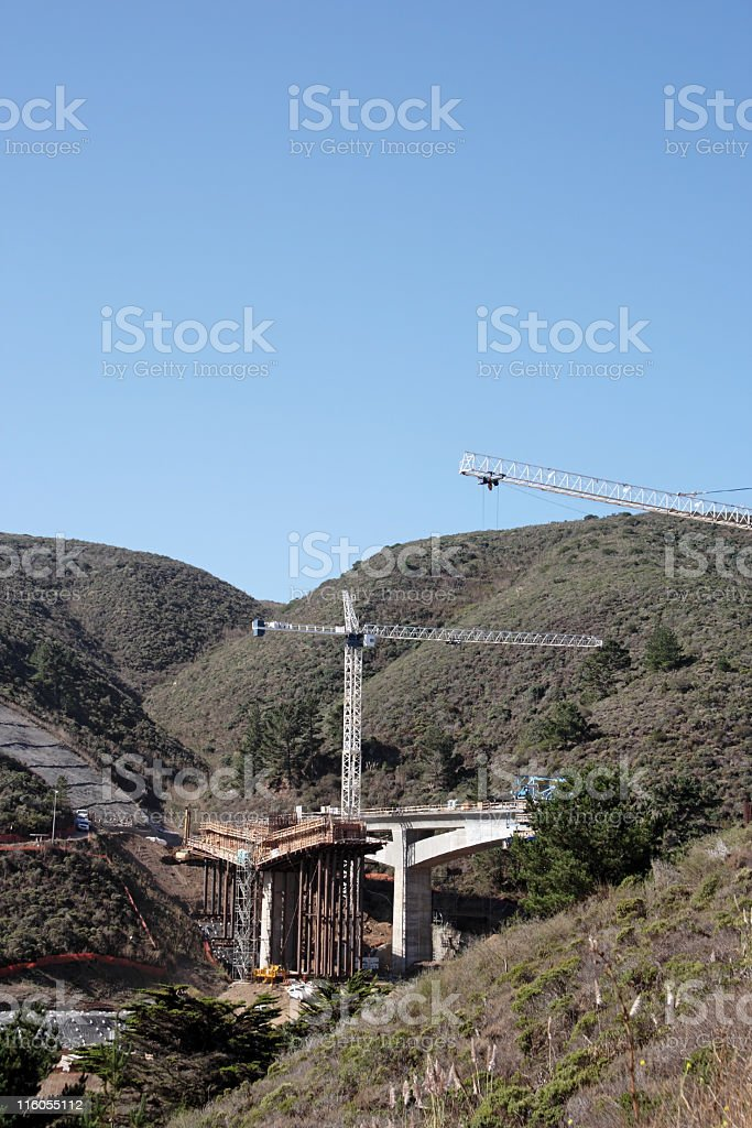 Bridge and Tunnel Construction stock photo