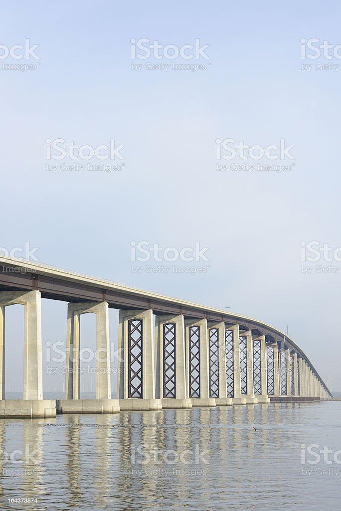 Bridge, Antioch California royalty-free stock photo
