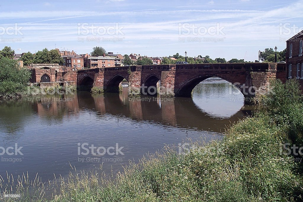 Bridge at Chester royalty-free stock photo
