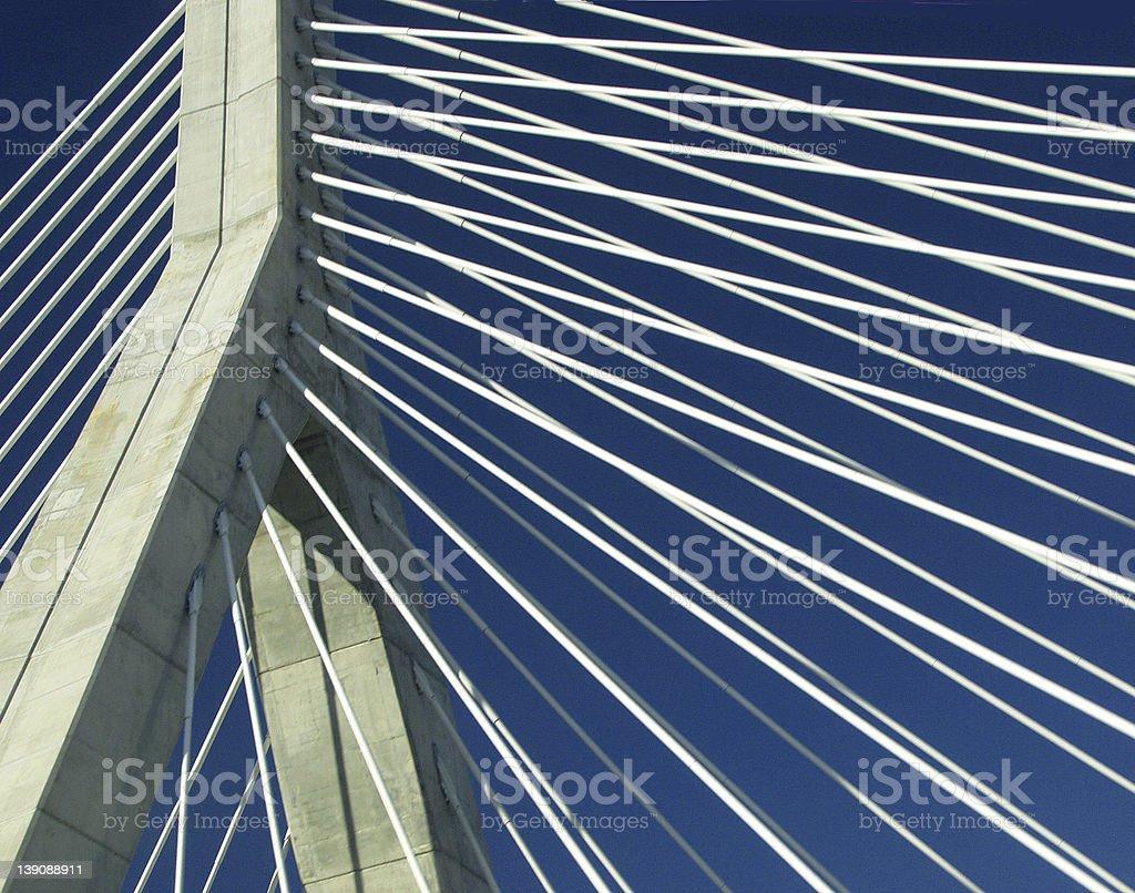 Bridge Bands royalty-free stock photo