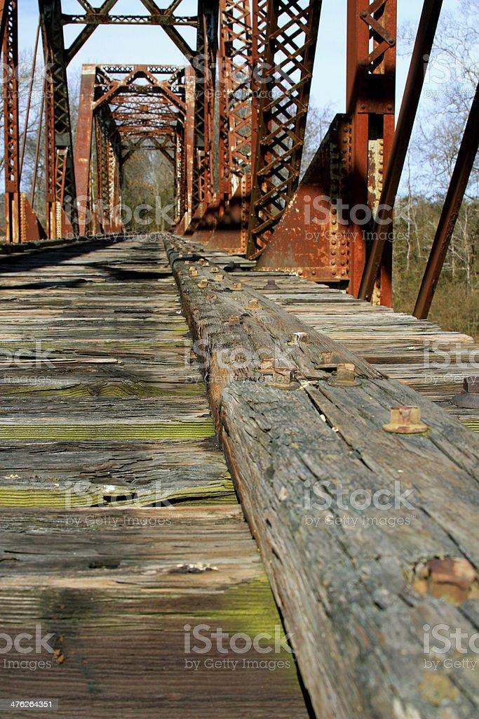 Bridge bed royalty-free stock photo