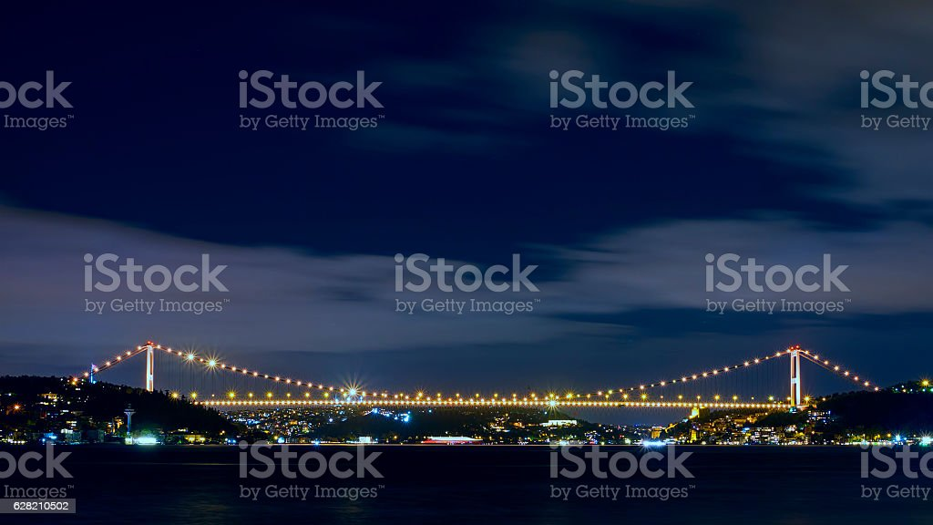 FSM Bridge - Bosphorus - Turkey stock photo