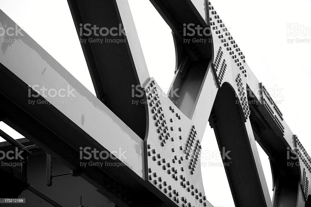 Bridge City royalty-free stock photo