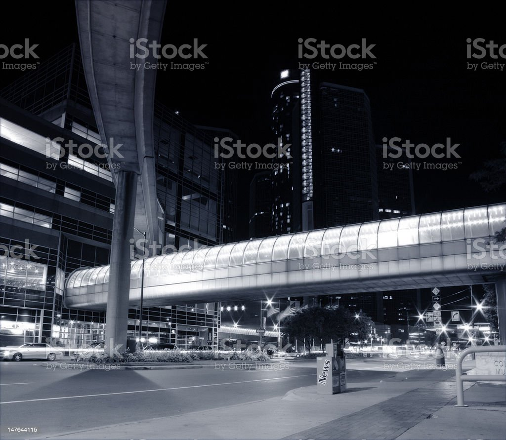 Bridge Cityscape royalty-free stock photo