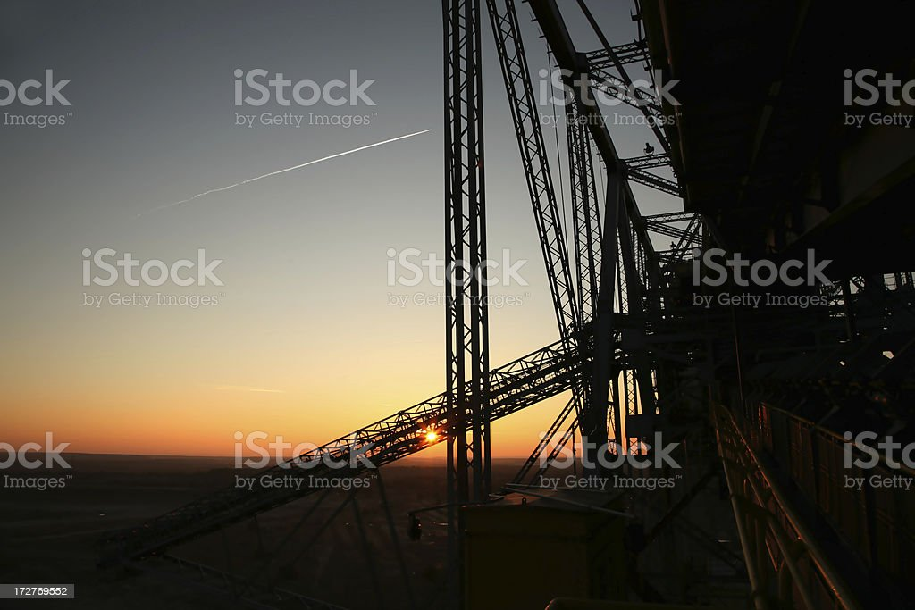 bridge, construction royalty-free stock photo