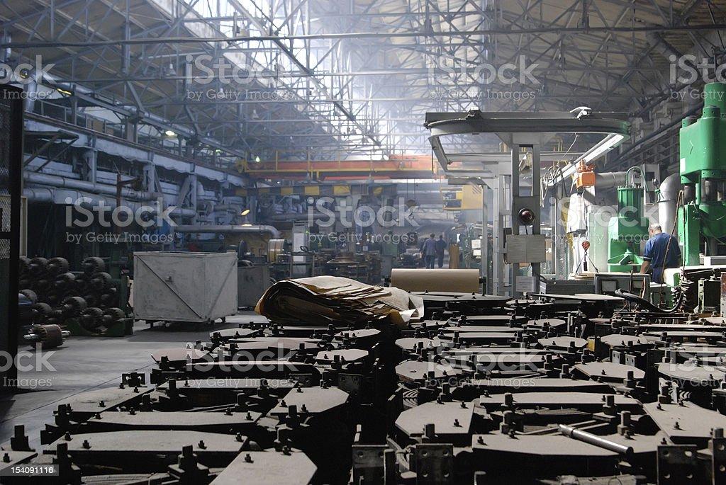 bridge constructional ironworks stock photo