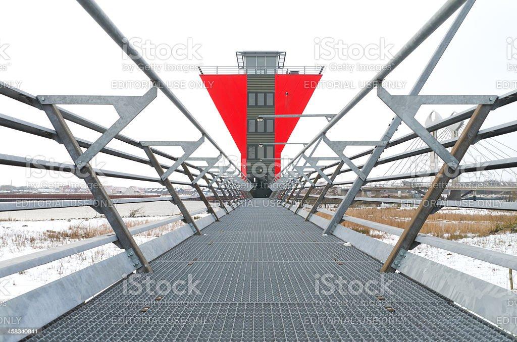 bridge control room stock photo