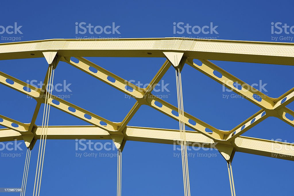 Bridge Details stock photo