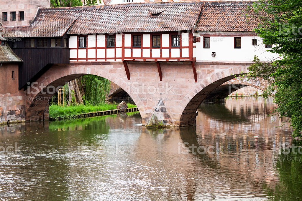 Bridge Henker Brücke stock photo