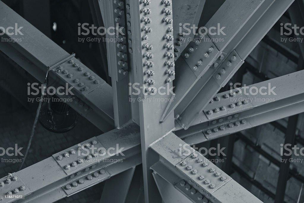 Bridge frame stock photo