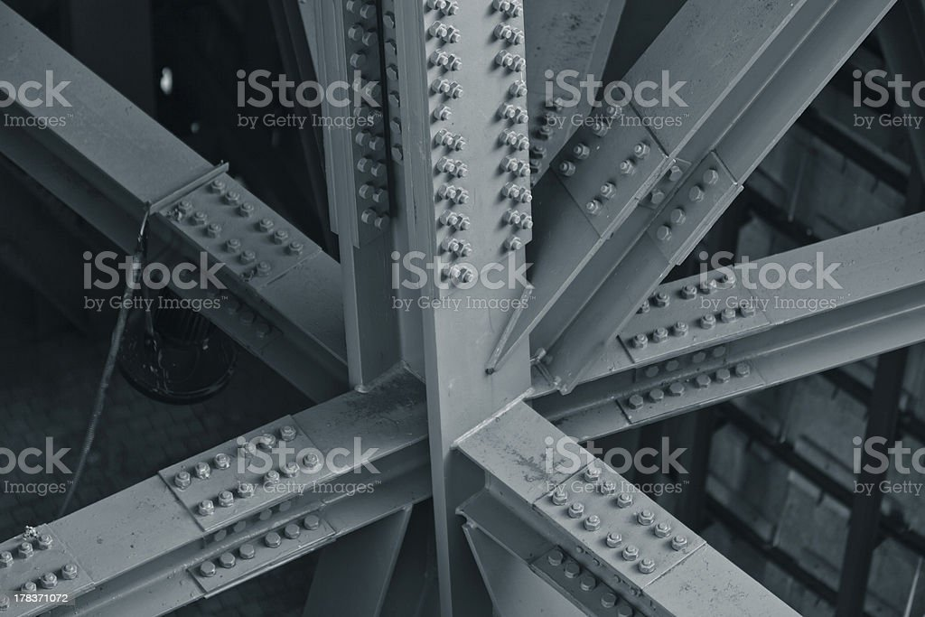 Bridge frame stock photo