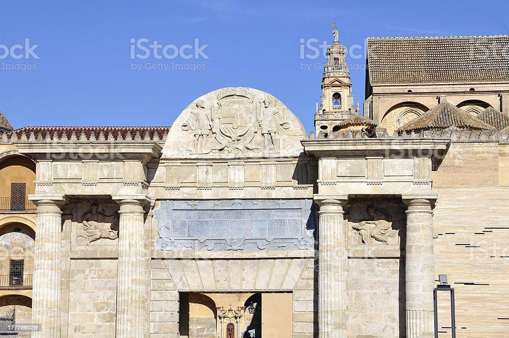 Bridge Gate in Cordoba, Spain. royalty-free stock photo