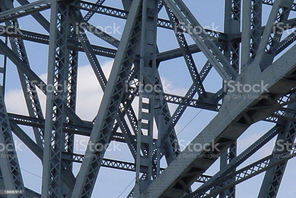 Bridge Girders royalty-free stock photo