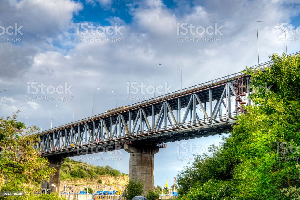 Bridge - HDR Image stock photo