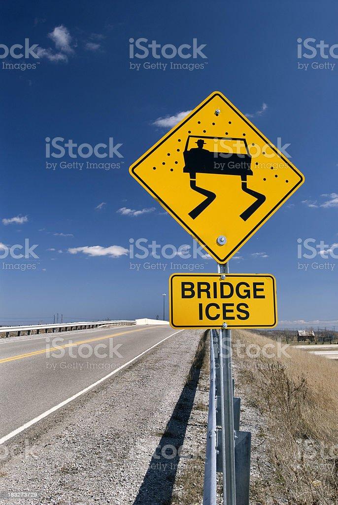 Bridge Ices royalty-free stock photo