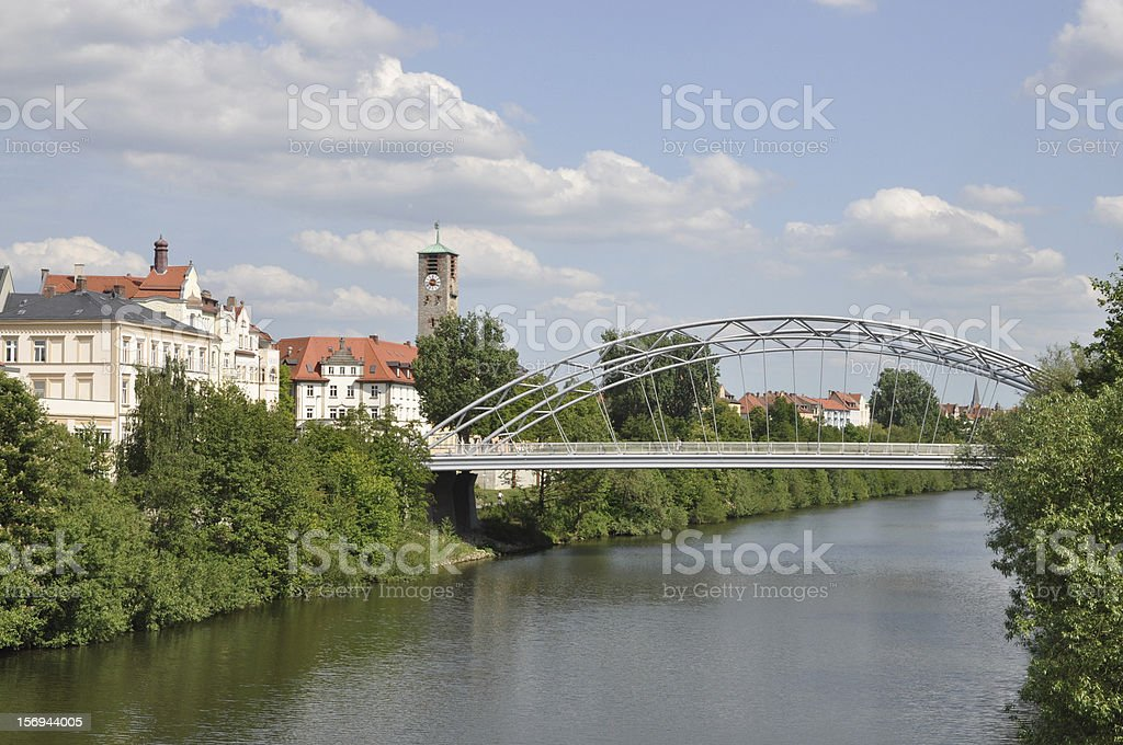 Bridge in Bamberg royalty-free stock photo