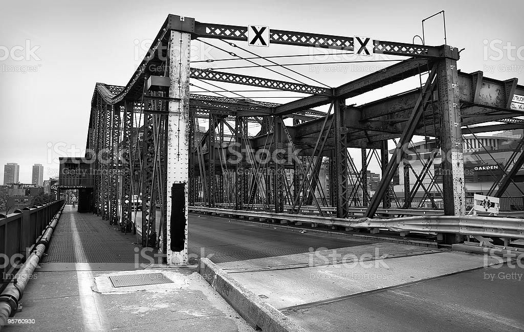 Puente en Boston - foto de stock