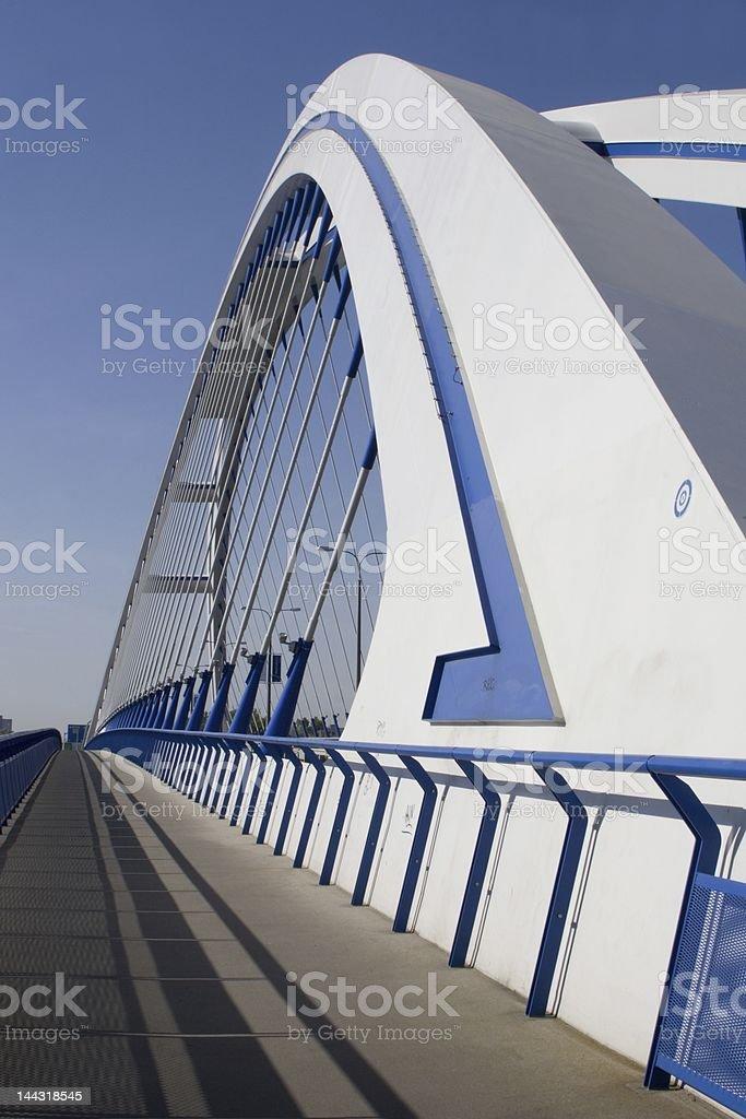 bridge in bratislava stock photo
