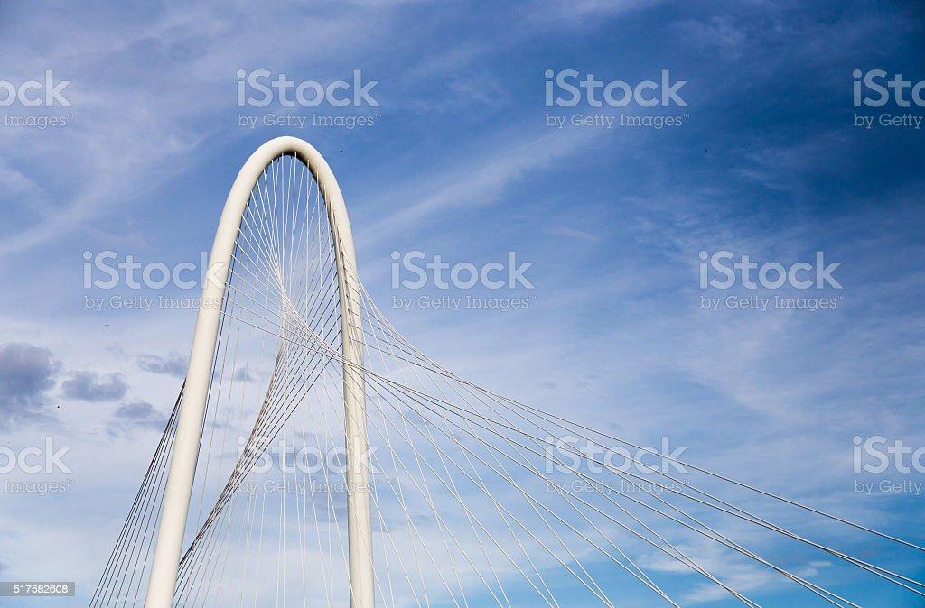 Bridge in Dallas, Texas stock photo