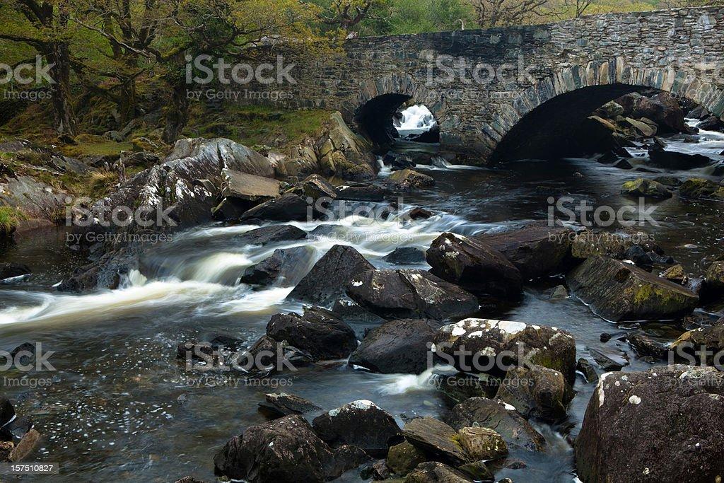 bridge in Killarney national park stock photo