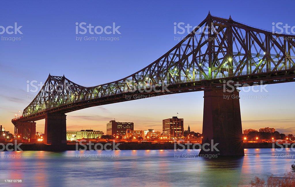 Bridge in Montreal royalty-free stock photo