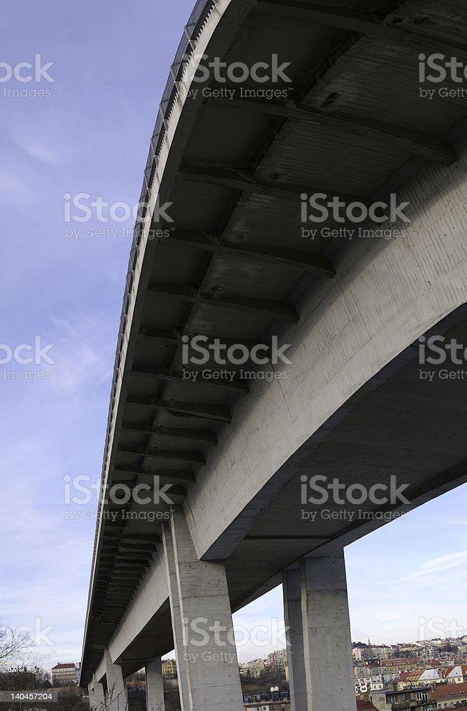 Bridge in Prague royalty-free stock photo
