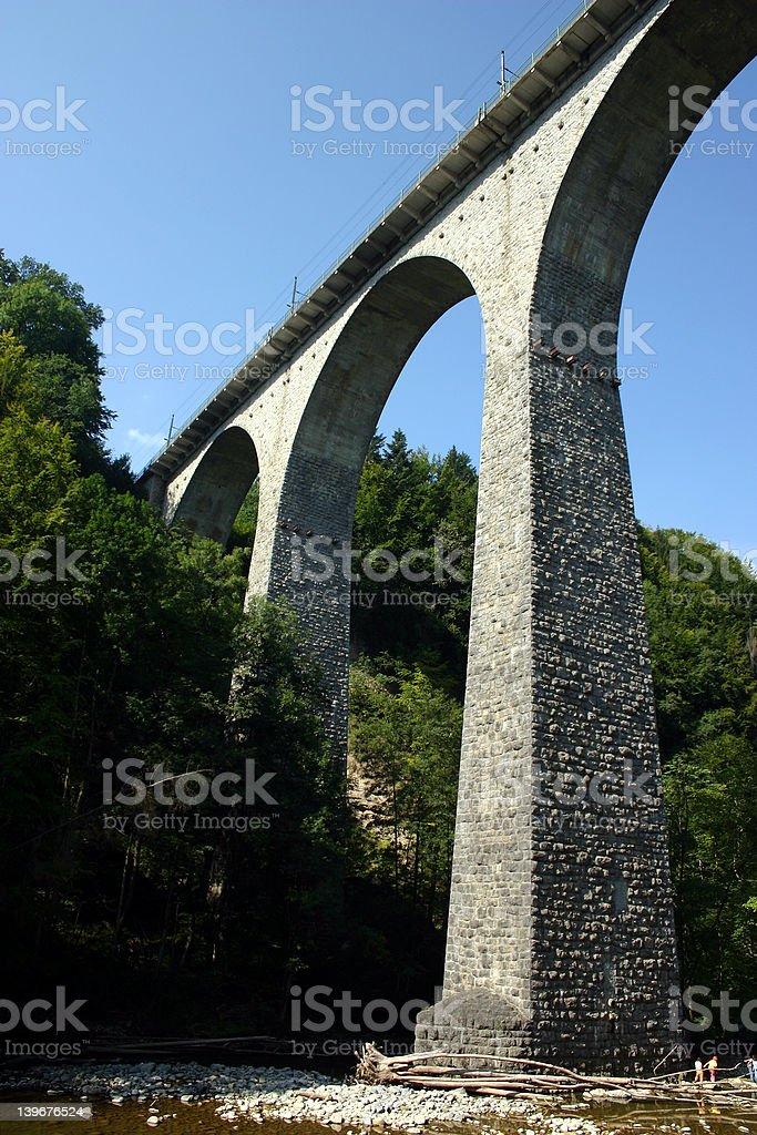 Bridge in St.Gallen royalty-free stock photo