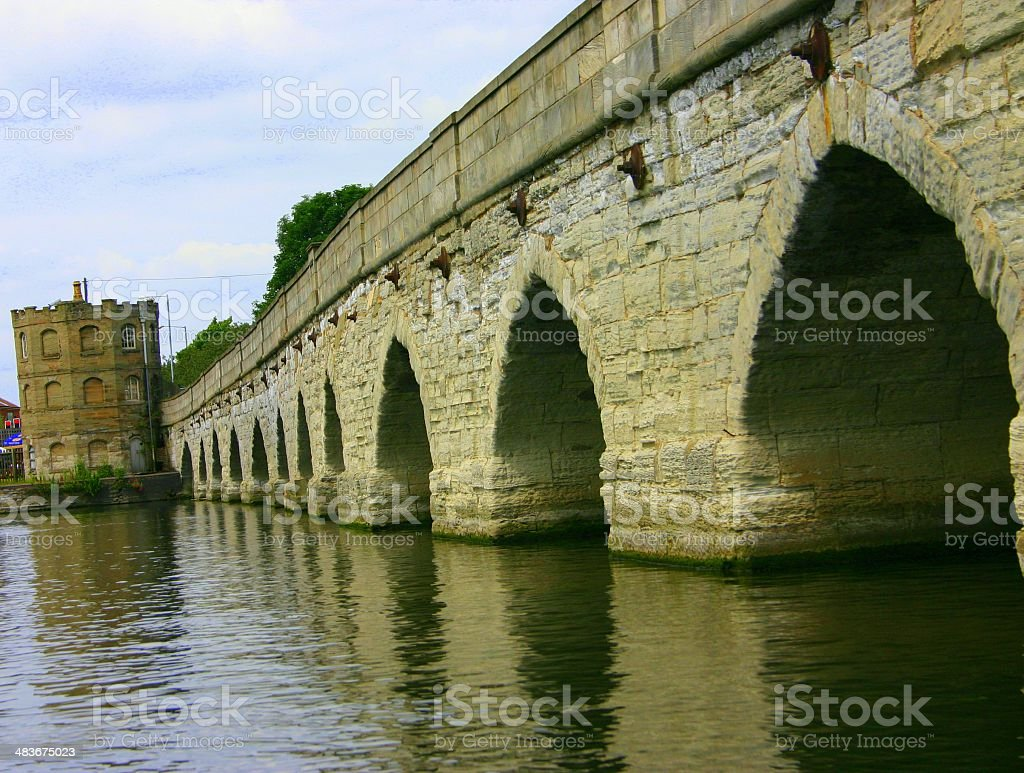 Bridge in Stratford upon Avon royalty-free stock photo