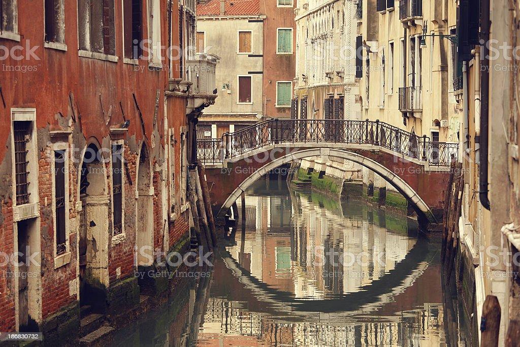 Bridge in Venice royalty-free stock photo
