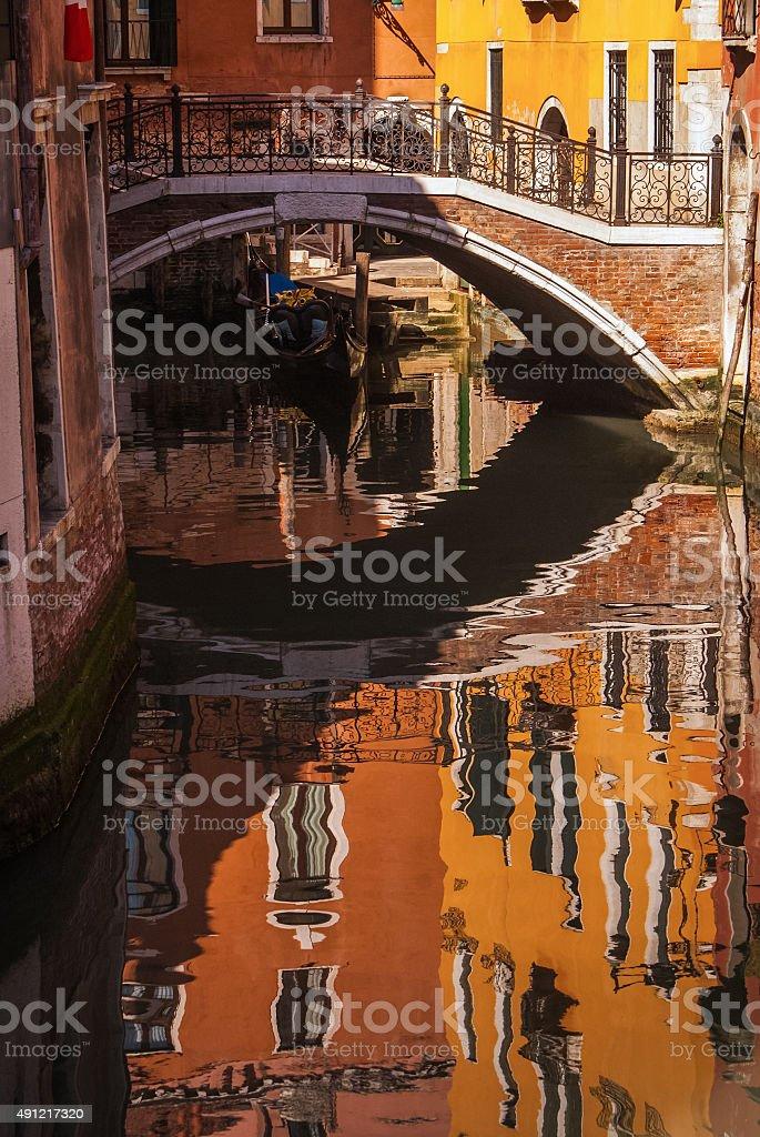 Pont à Venise photo libre de droits
