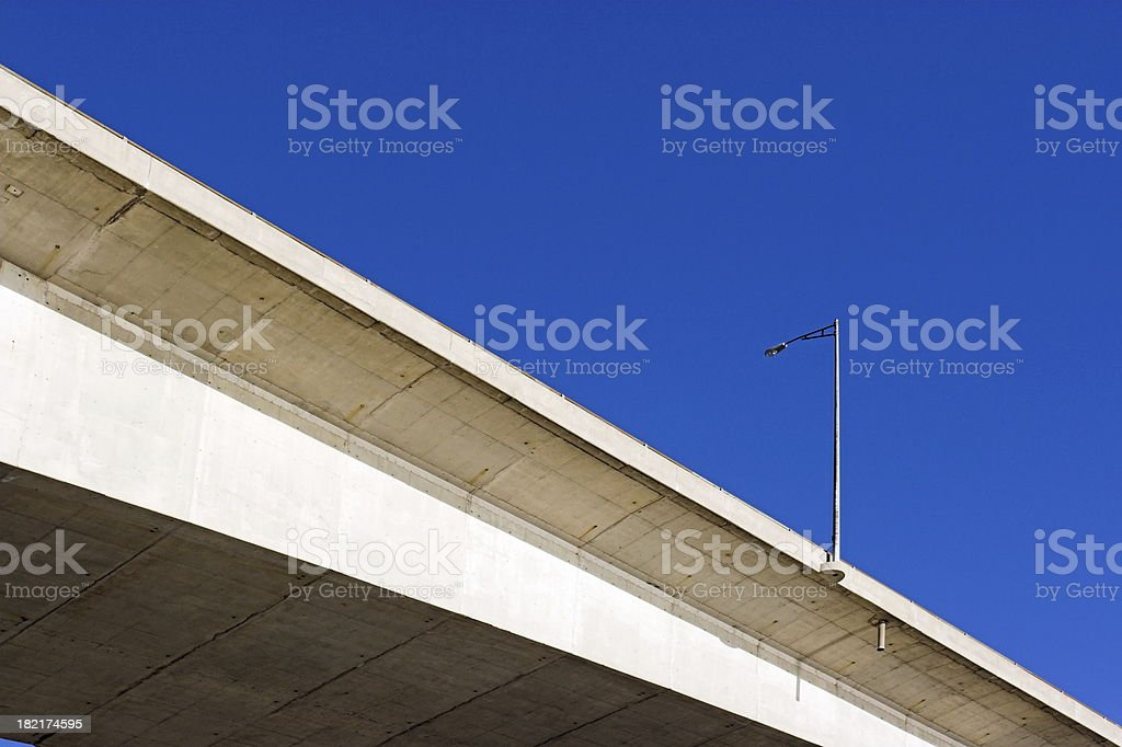 Bridge Lamppost royalty-free stock photo