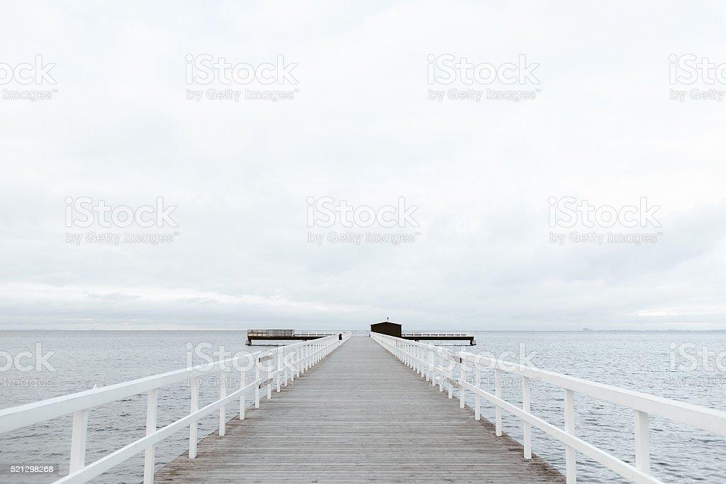 Bridge, Malmö, Sweden stock photo