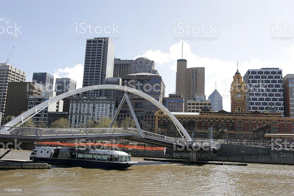 Bridge Melbourne stock photo