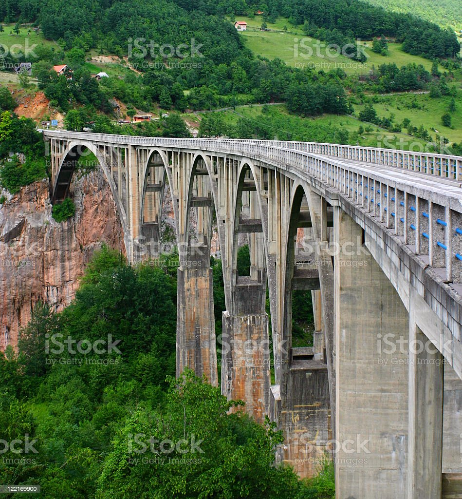 Bridge, Montenegro royalty-free stock photo