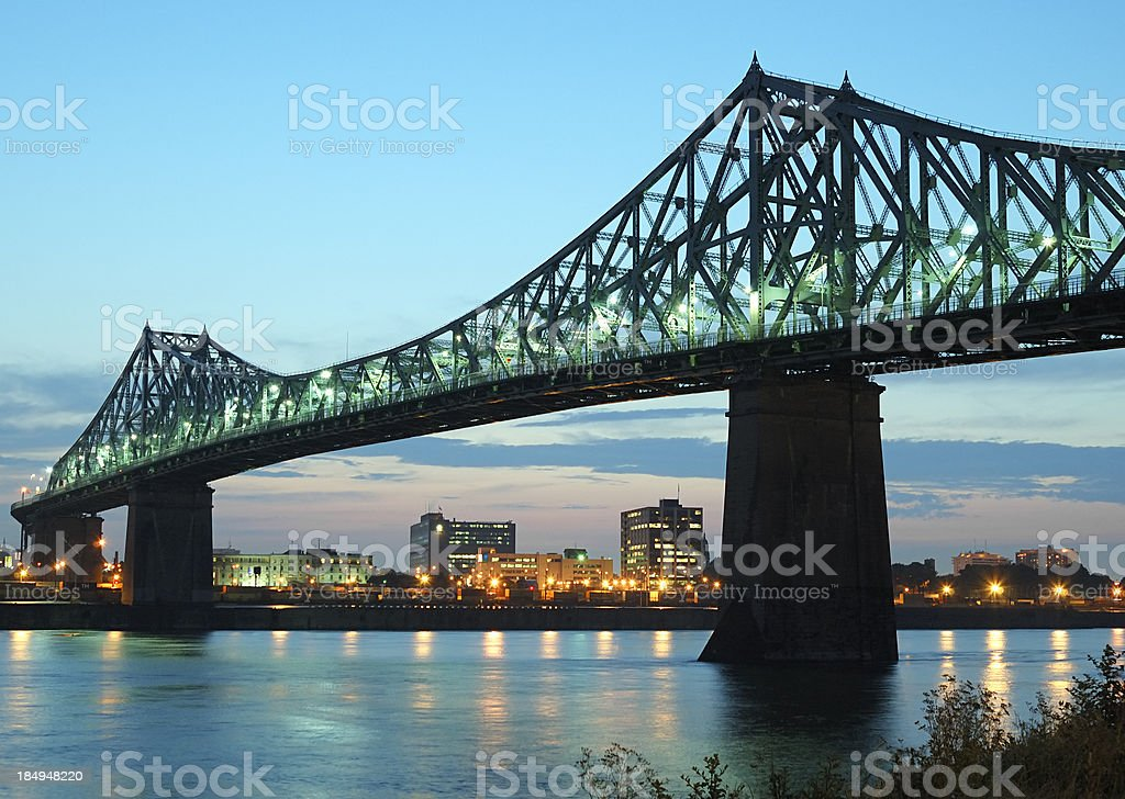 Bridge, Montreal stock photo
