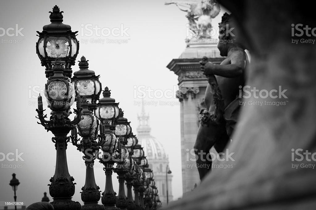 Bridge Napoléon III stock photo