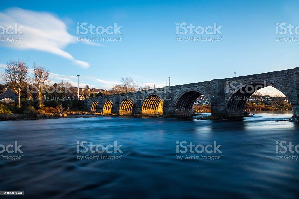 Bridge of Dee stock photo