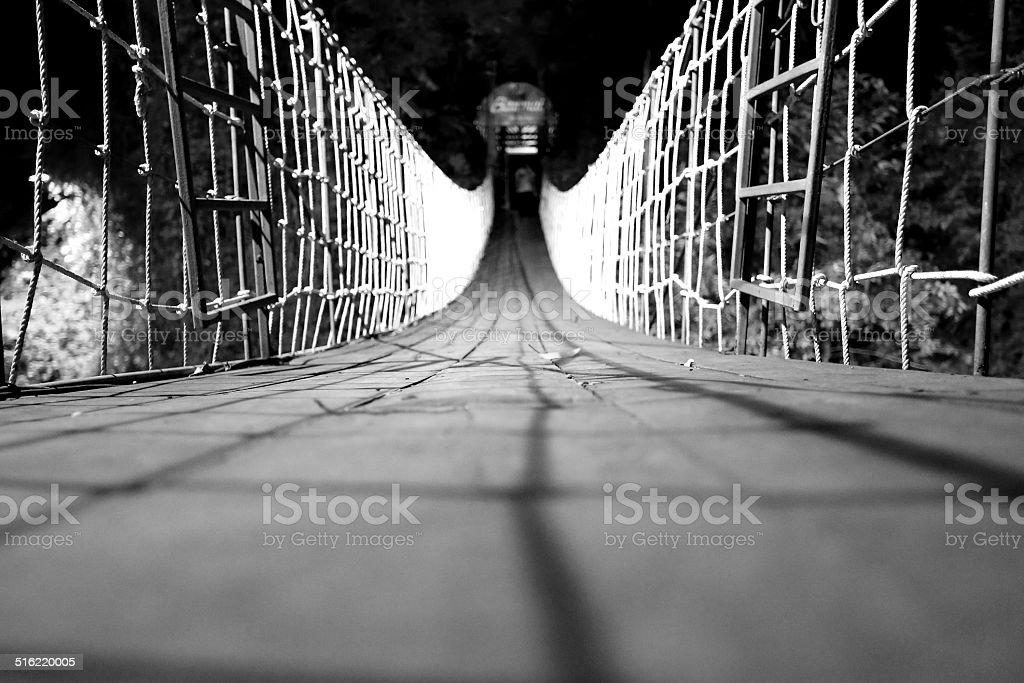 Bridge of dreams stock photo