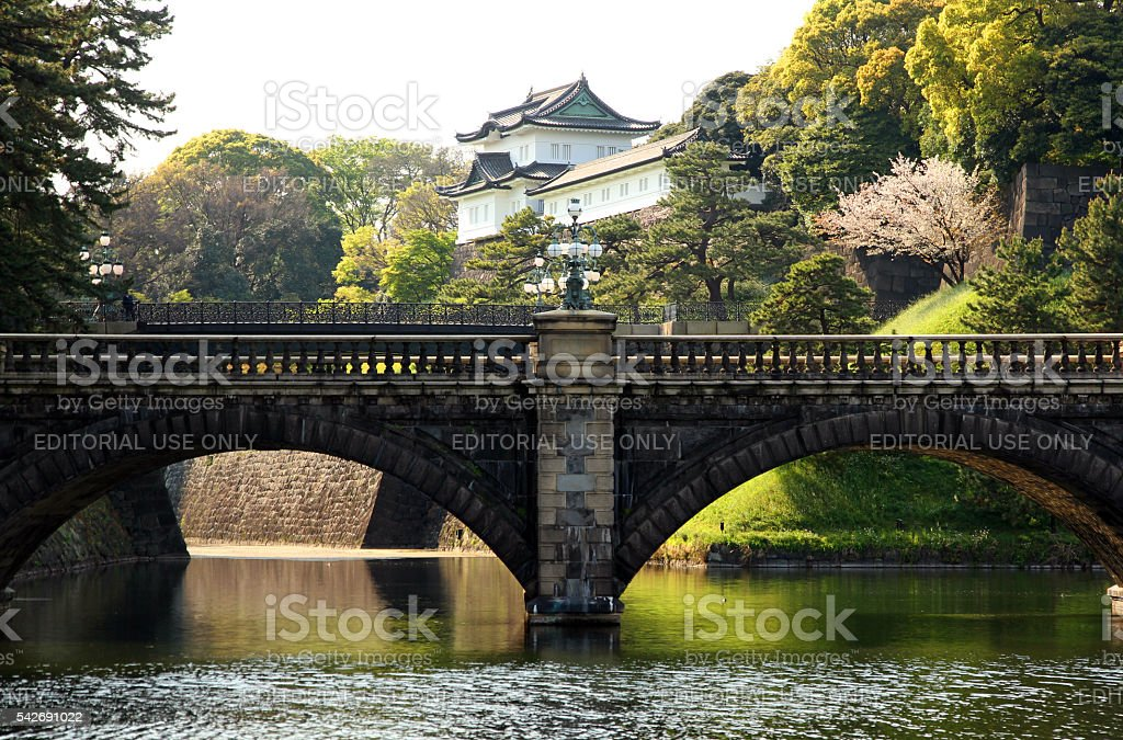 Bridge of Emperors stock photo