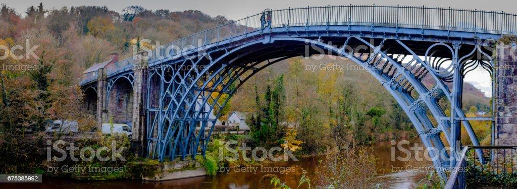 Bridge of Iron stock photo