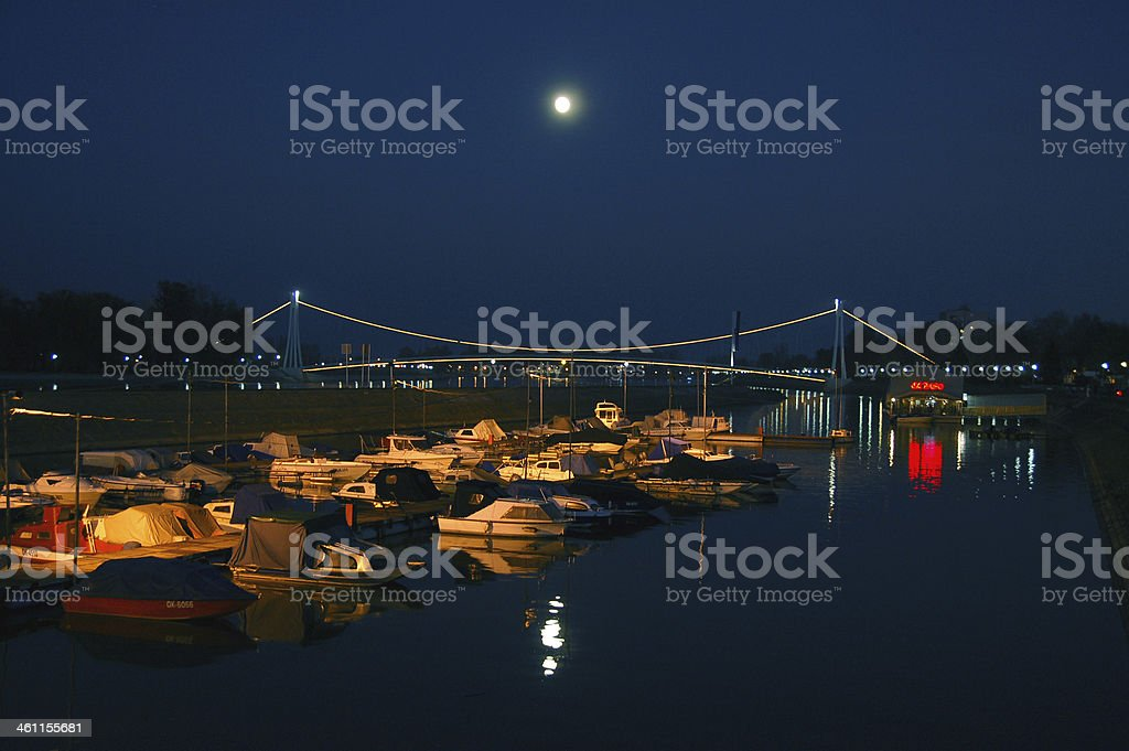 Bridge of Osijek stock photo