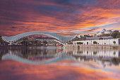 Bridge of Peace in Tbilis
