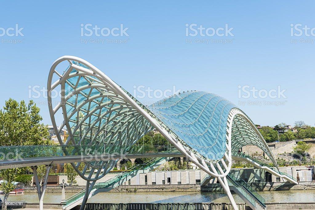 Bridge of Peace stock photo