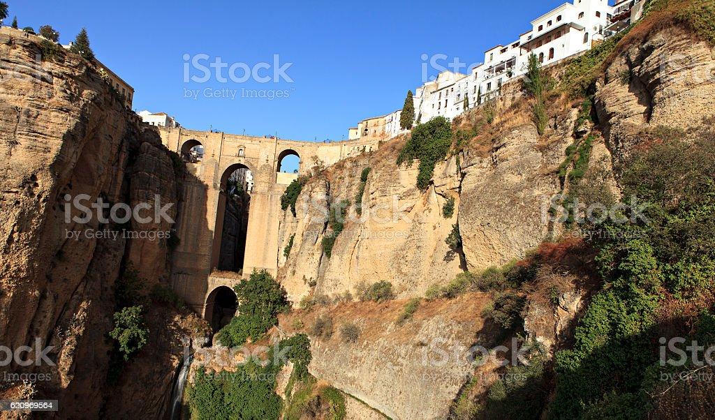 bridge of ronda stock photo