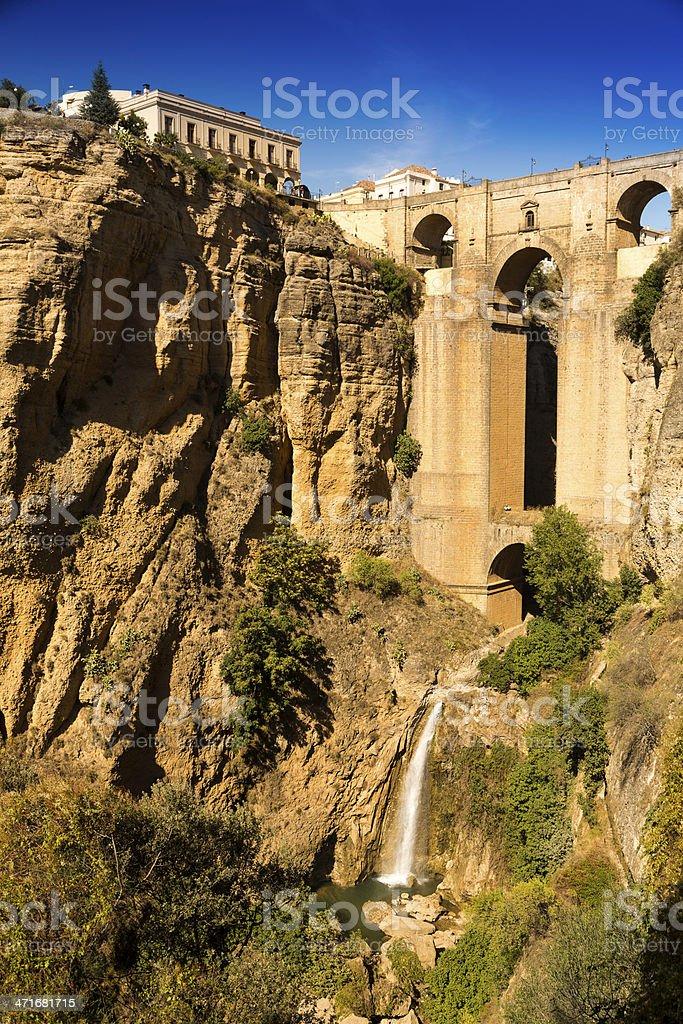 Bridge of Ronda, Spain stock photo