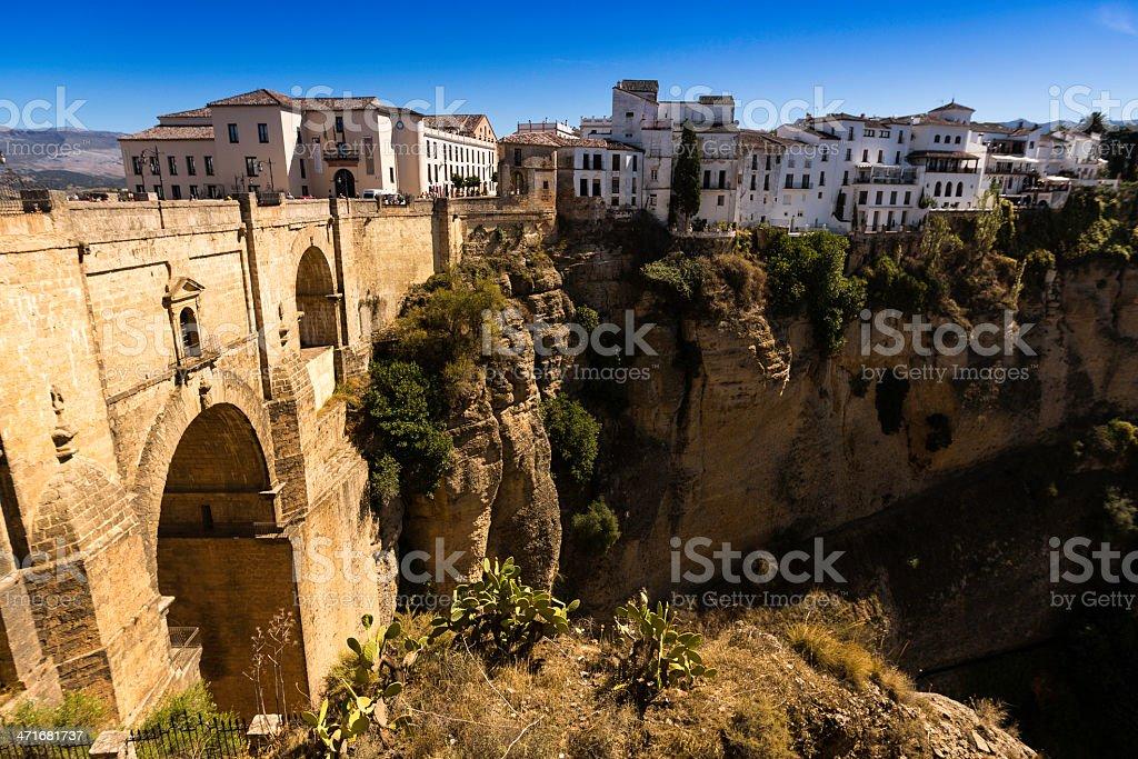 Bridge of Ronda, Spain royalty-free stock photo